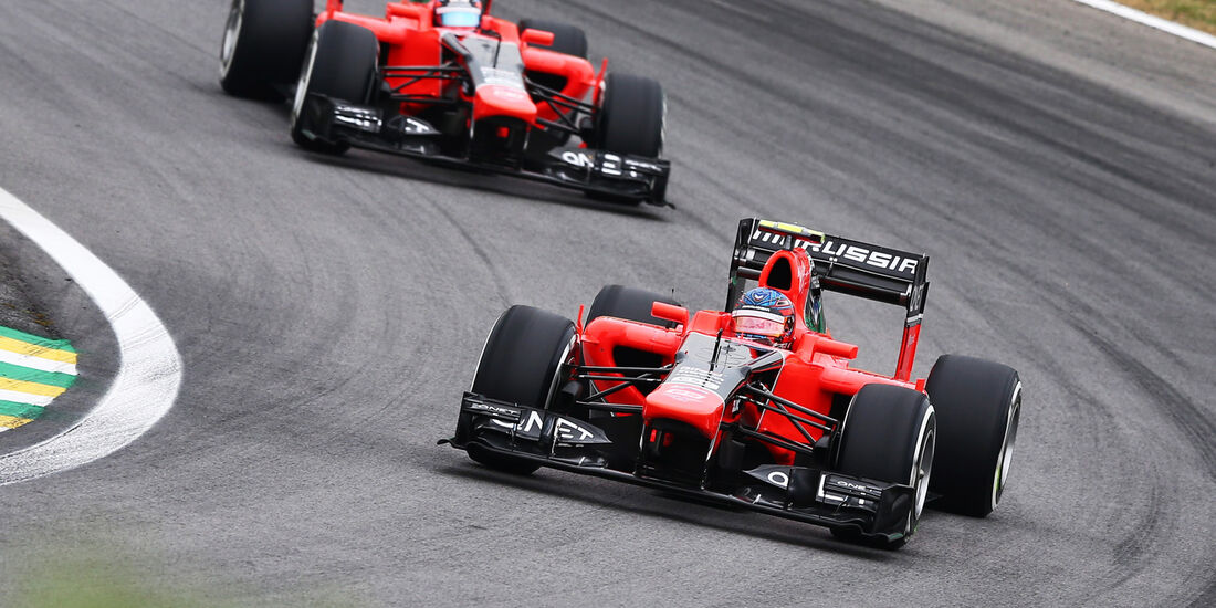 Pic Glock Marussia GP Brasilien 2012