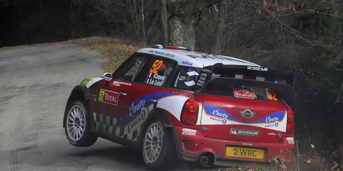 Pierre Campana Mini Rallye Monte Carlo 2012