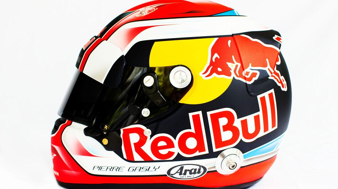 Pierre Gasly - Helm - F1 - 2018