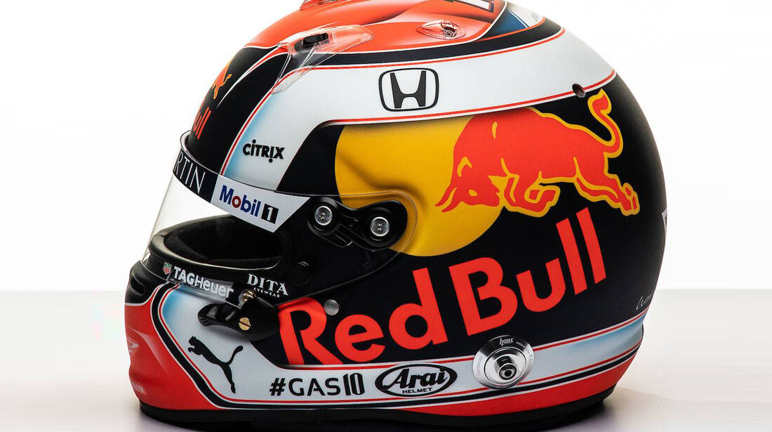 Pierre Gasly - Helm - F1 - 2019