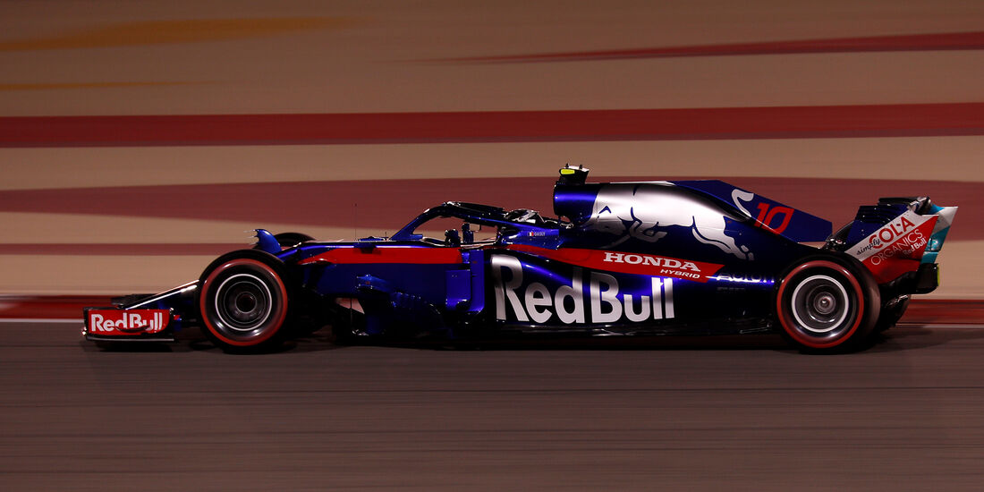 Pierre Gasly - Toro  Rosso - Formel 1 - GP Bahrain - 7. April 2018
