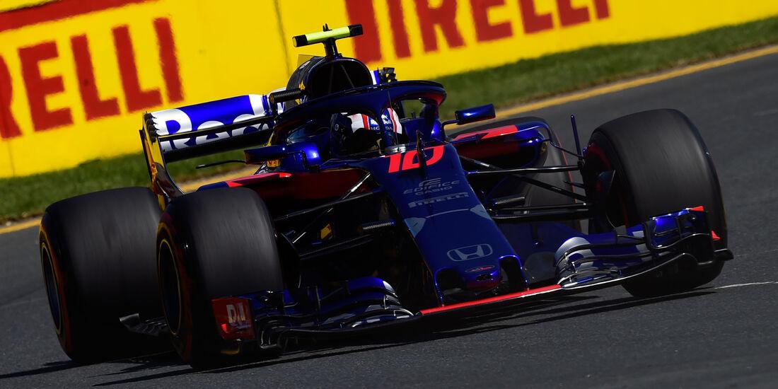 Pierre Gasly - Toro Rosso - GP Australien 2018 - Melbourne - Albert Park - Freitag - 23.3.2018