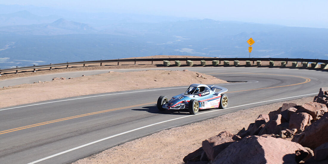 Pikes Peak 2010 International Hill Climb 2010, E-Auto, Elektro-Auto, Bergrennen