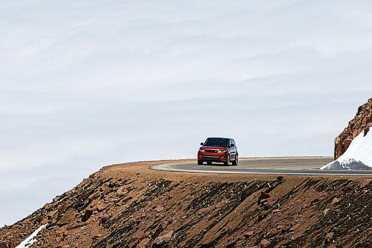 Pikes Peak, Range Rover Sport V8 5.0 SC