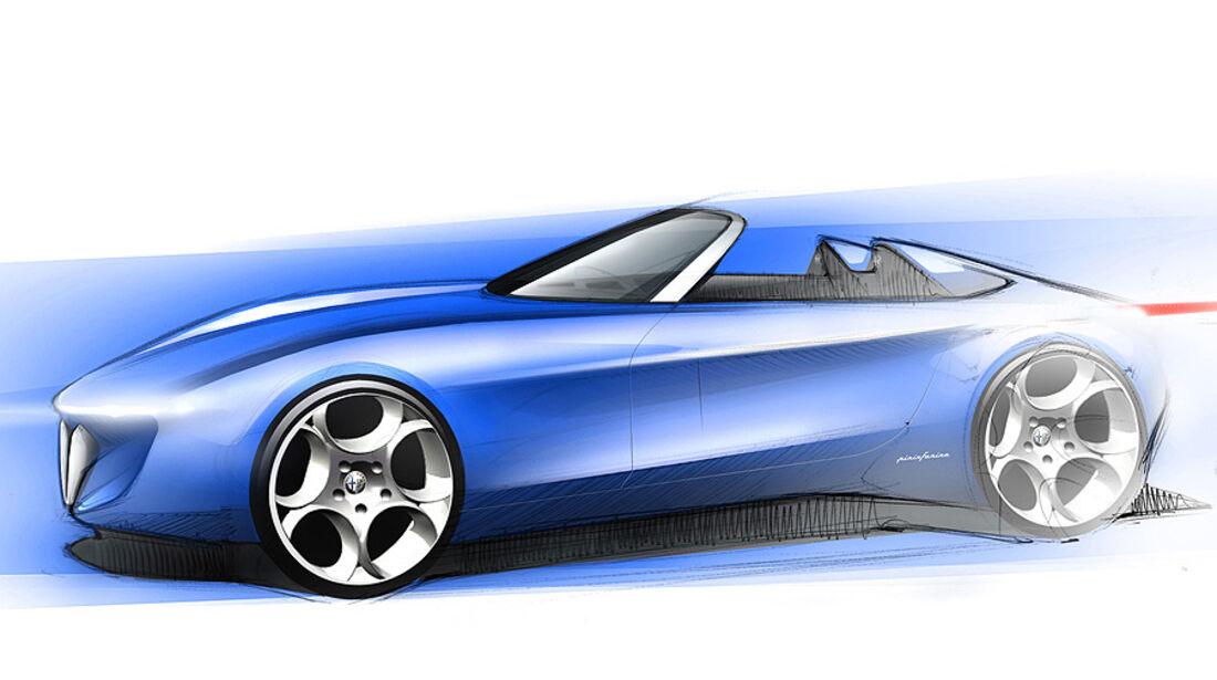 Pininfarina Roadster Genf 2010