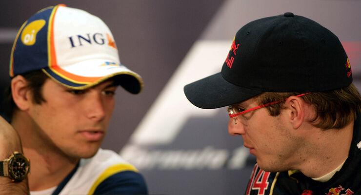 Piquet und Bourdais