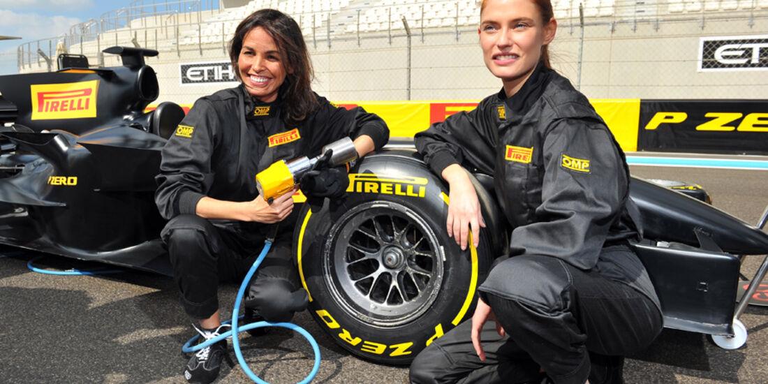 Pirelli Abu Dhabi 2012