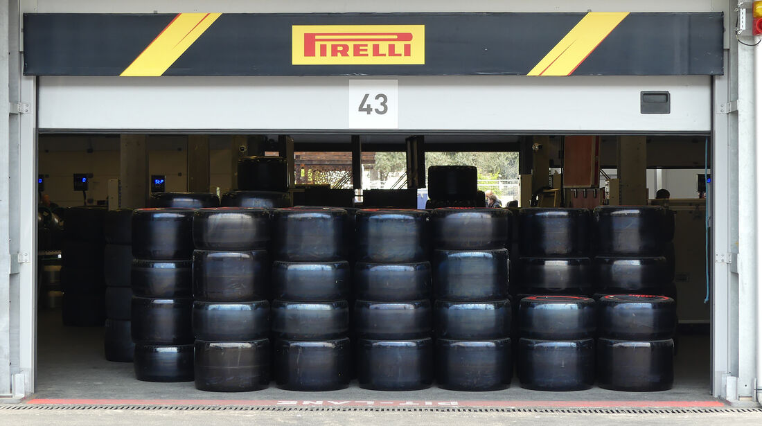 Pirelli - Formel 1 - GP Aserbaidschan - Baku - 25. April 2019