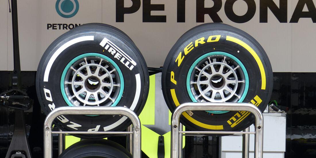 Pirelli - Formel 1 - GP China - Shanghai - 16. April 2014