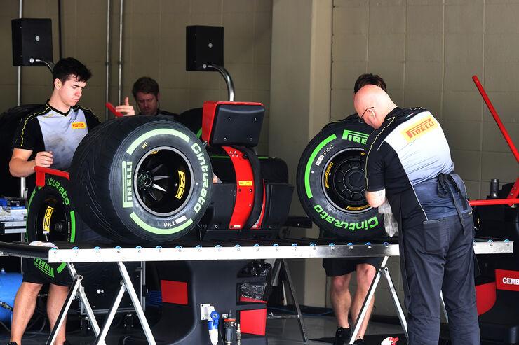 Pirelli - GP Brasilien 2017