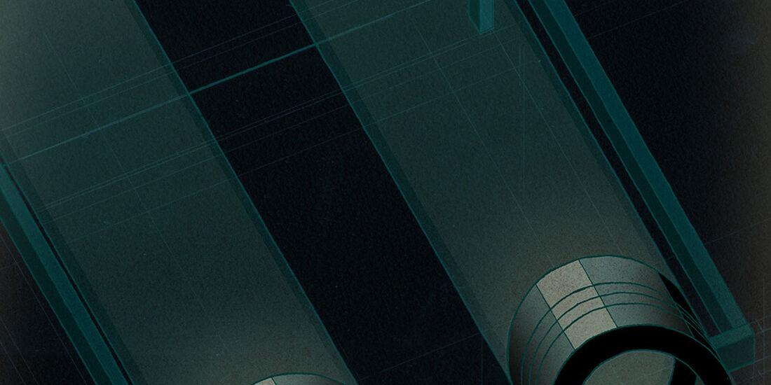 Pirelli Geschäftsbericht 2011 Illustrationen