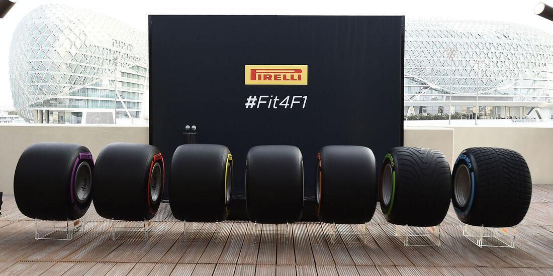 Pirelli - Reifen 2017 - Abu Dhabi