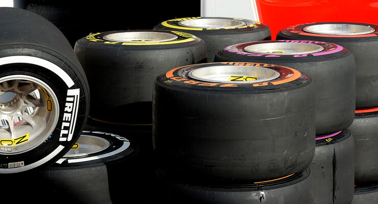 Pirelli-Reifen - F1 Test 2016