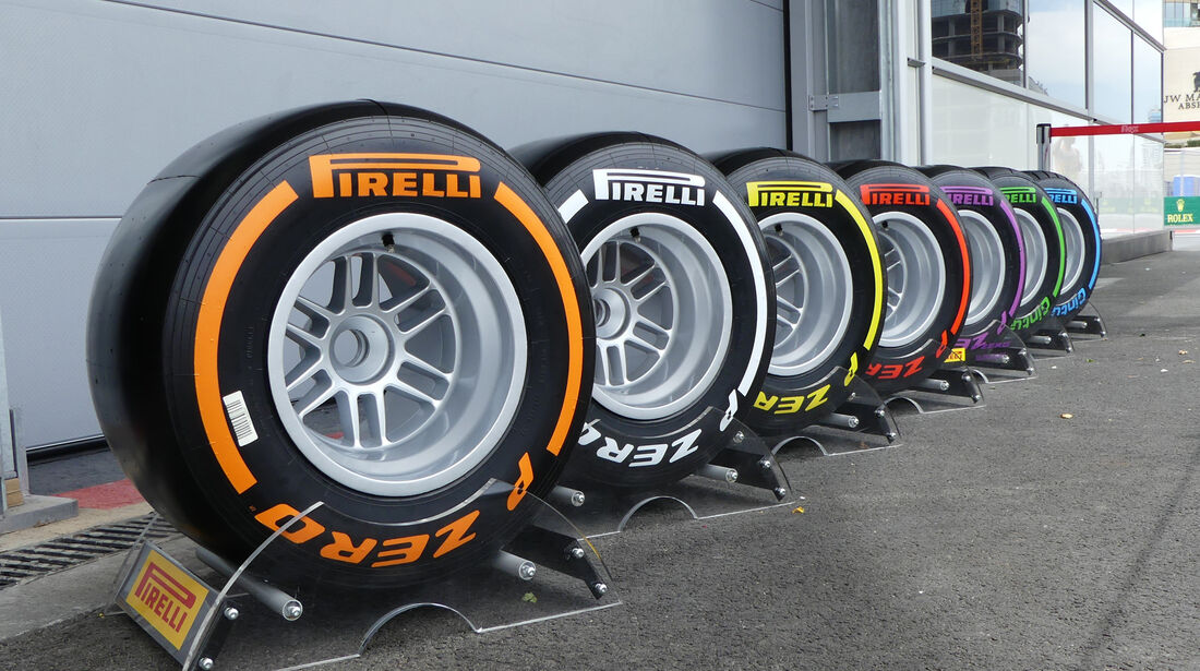 Pirelli-Reifen - Formel 1 - GP Aserbaidschan - Baku - 17. Juni 2016