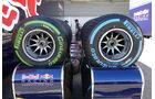Pirelli-Reifen - Formel 1 - GP Belgien - Spa-Francorchamps - 25. August 2016