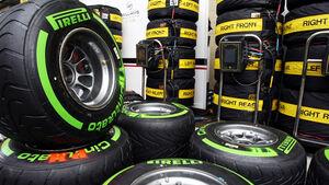 Pirelli-Reifen - Formel 1 - GP Brasilien - 21. November 2013