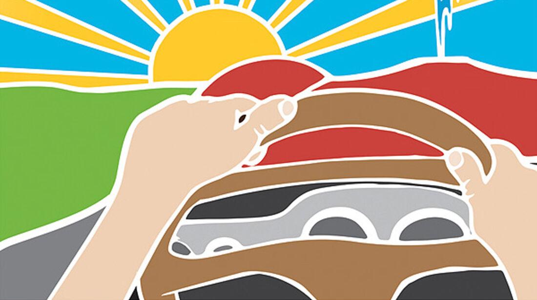 Plakat Autosalon Genf 2012
