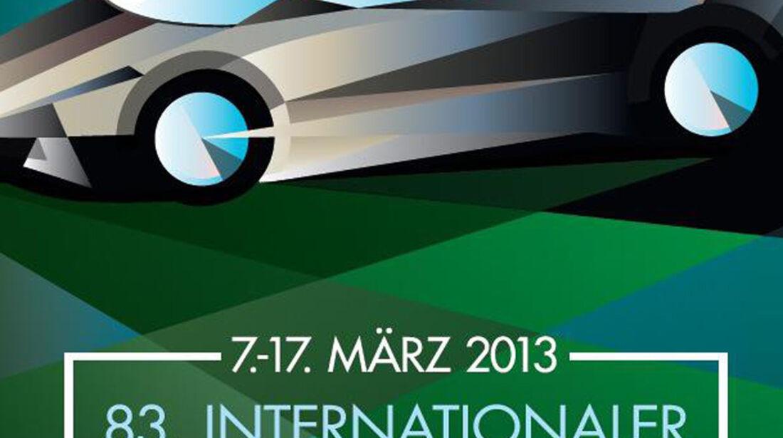 Plakat Autosalon Genf 2013