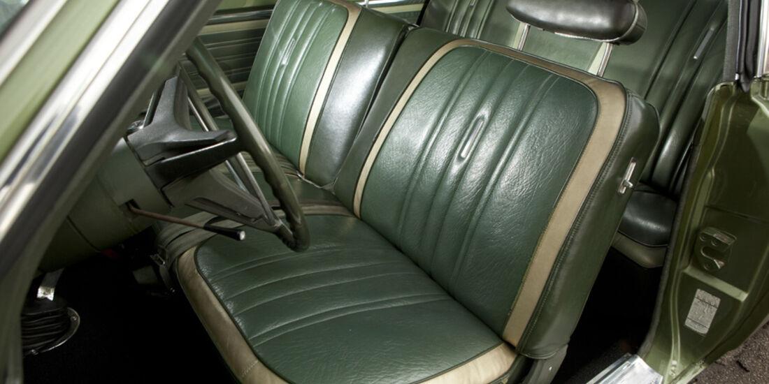 Plymouth Roadrunner 440, Fahrersitz