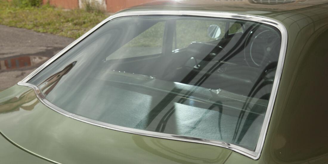 Plymouth Roadrunner 440, Rückfenster