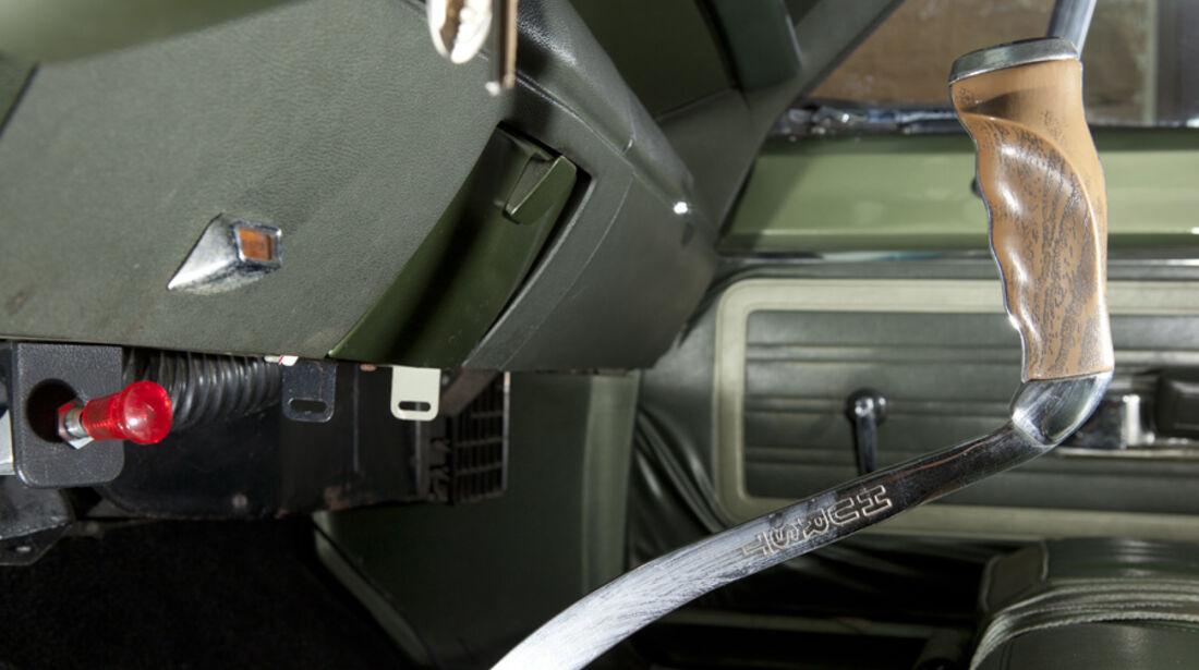 Plymouth Roadrunner 440, Schalthebel, Schaltknauf