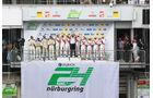 Podium - 24h-Rennen Nürburgring 2017 - Nordschleife - Sonntag - 28.5.2017
