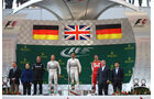 Podium - Formel 1 - GP China 2015