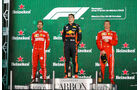 Podium - Formel 1 - GP Mexiko 2018