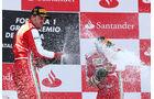 Podium - Formel 1 - GP Spanien 2013