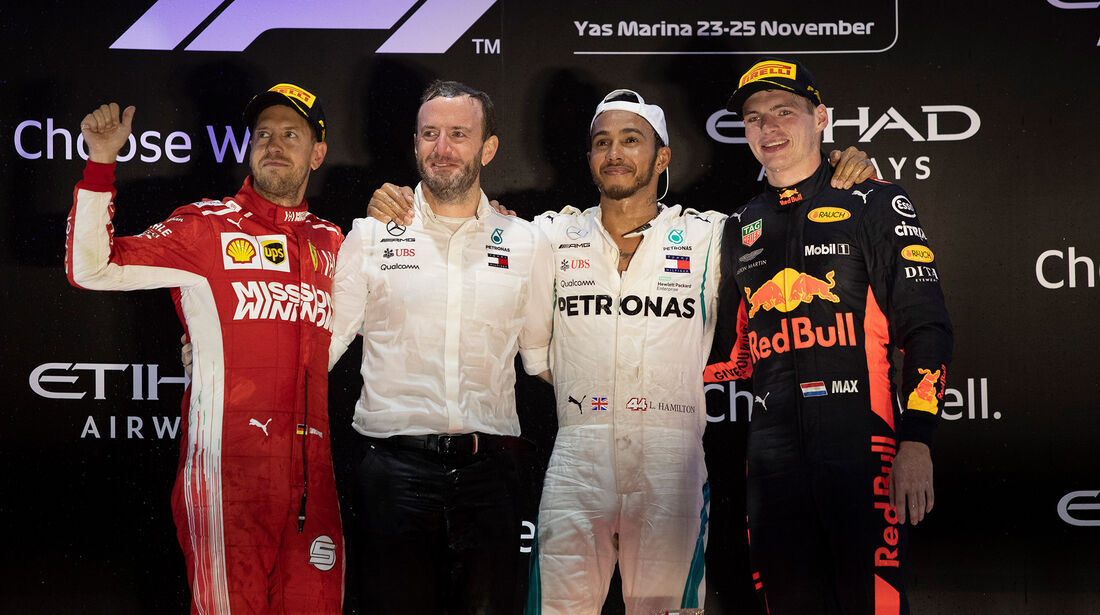Podium - GP Abu Dhabi 2018
