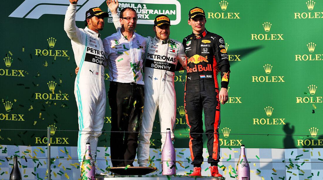 Podium - GP Australien 2019
