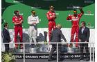 Podium - GP Brasilien 2017