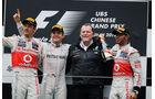 Podium - GP China 2012