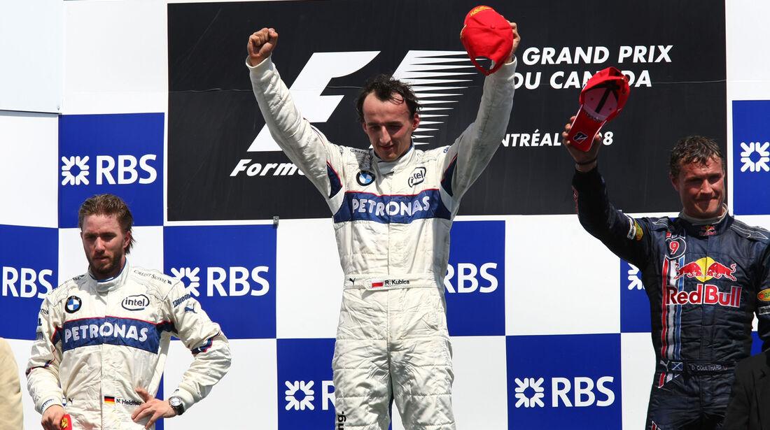 Podium - GP Kanada 2008