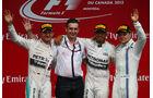 Podium - GP Kanada 2015