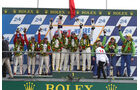 Podium Le Mans GT Am 2012