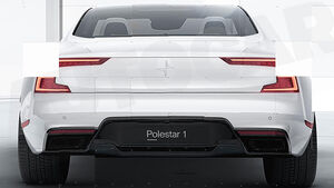 Polestar 1 Teaser Volvo
