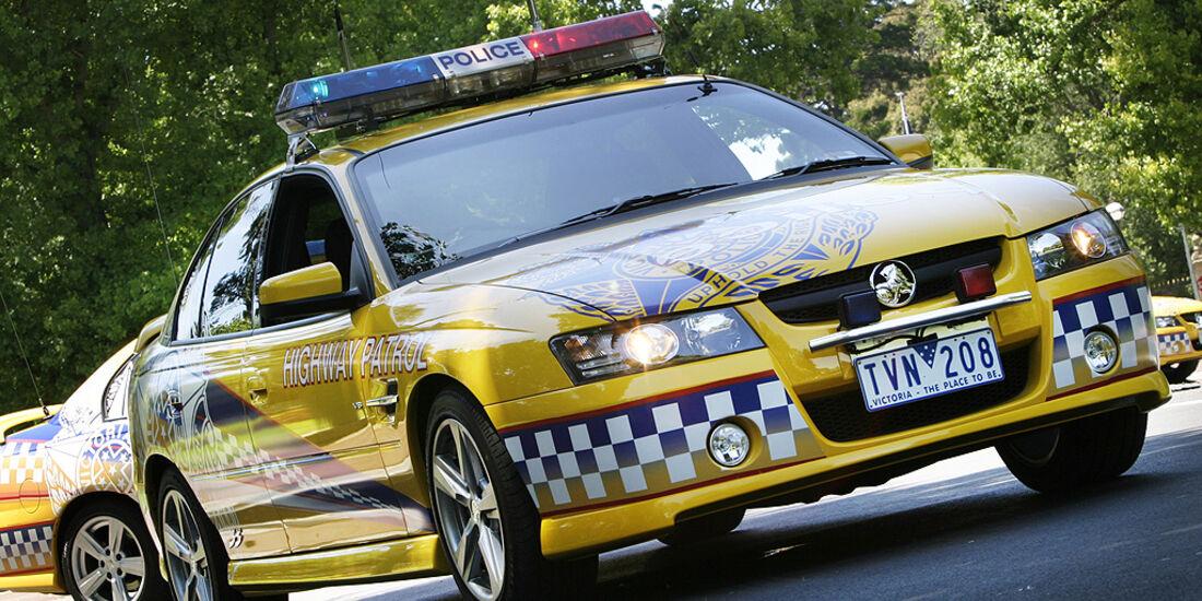 Polizeiauto GM Holden