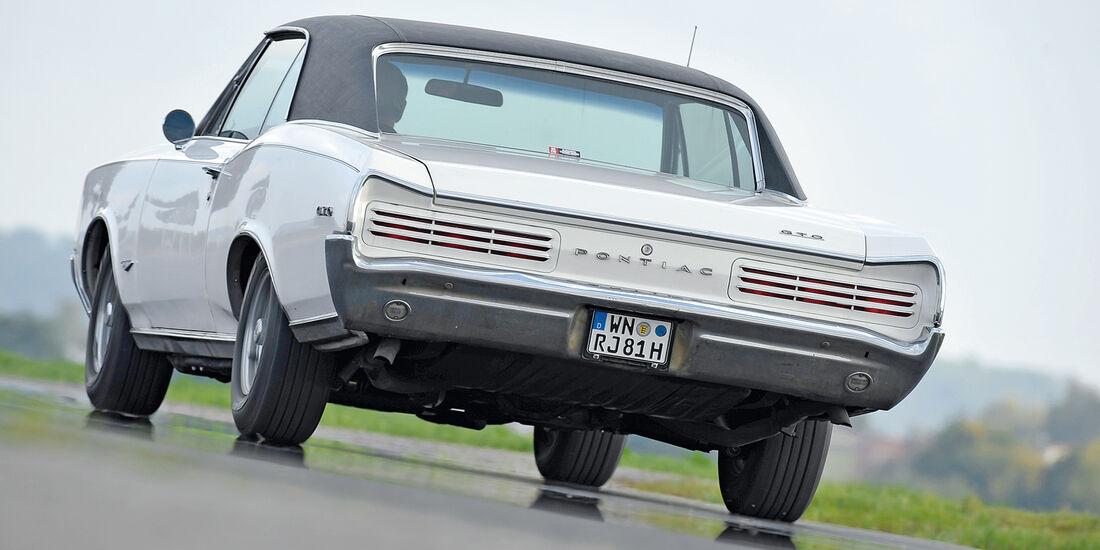 Pontiac GTO, Heckansicht