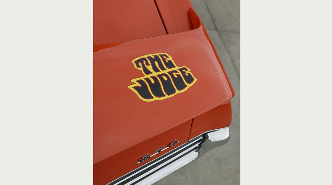 Pontiac GTO - The Judge Emblem