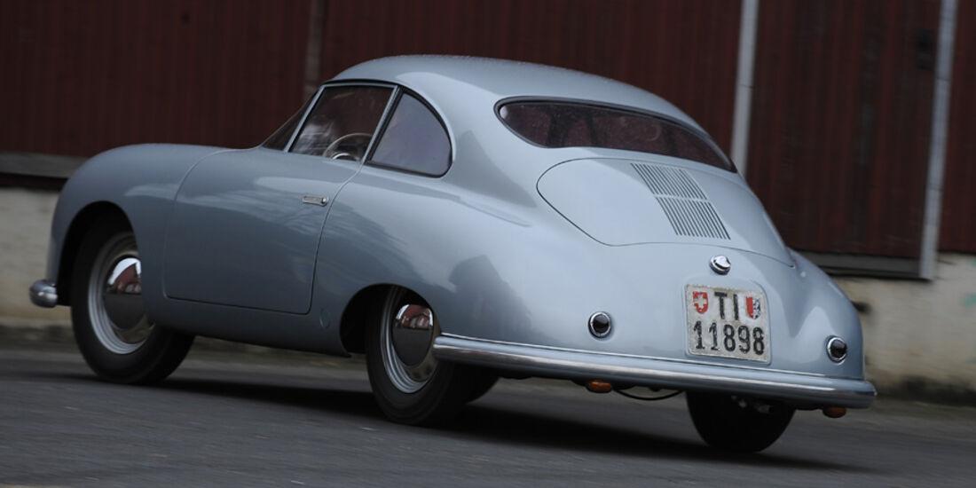 Porsche 356/2-004, RŸckansicht