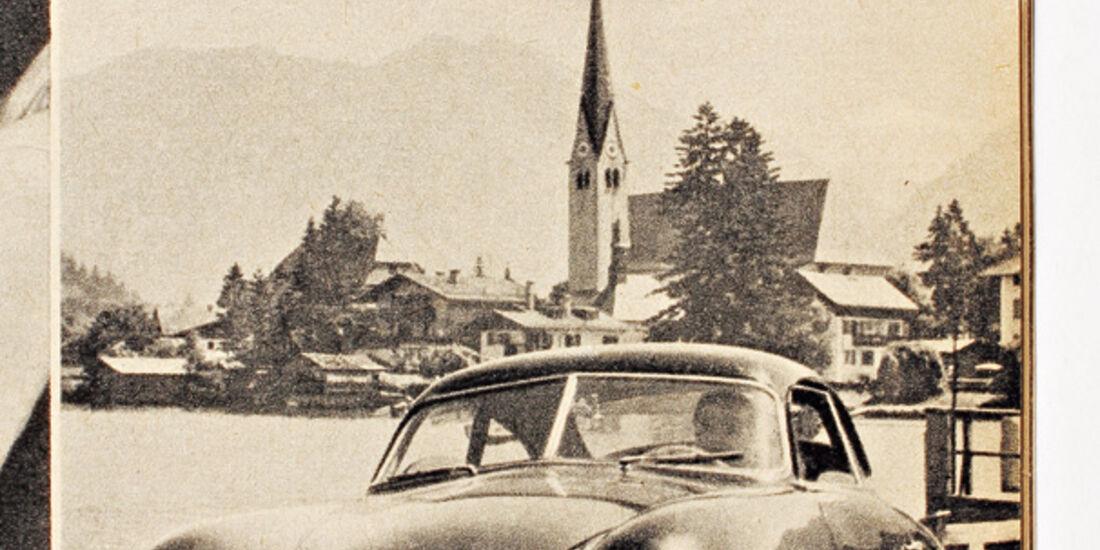 Porsche 356, Frontansicht, Rpttach-Egern, Tegernsee
