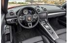 Porsche 718 Boxster (2016), Fahrbericht, Interieur