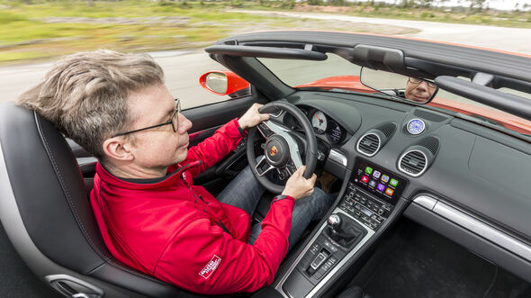 Porsche 718 Boxster (2016), Fahrbericht