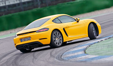 Porsche 718 Cayman S, Heckansicht