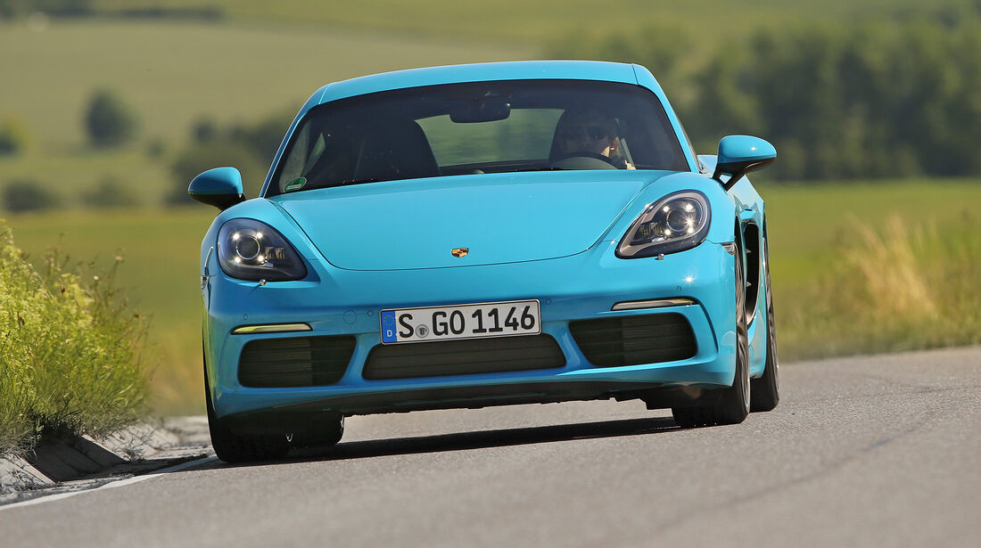 Porsche 718 Cayman S - Serie - Coupes bis 75000 Euro - sport auto Award 2019