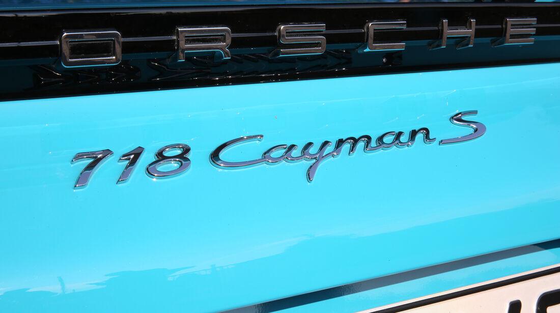 Porsche 718 Cayman S, Typenbezeichnung