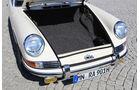 Porsche 901, Kofferraum, Frontlichter, Detail