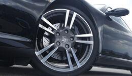 Porsche 911 Black Edition, Vorderrad, Felge