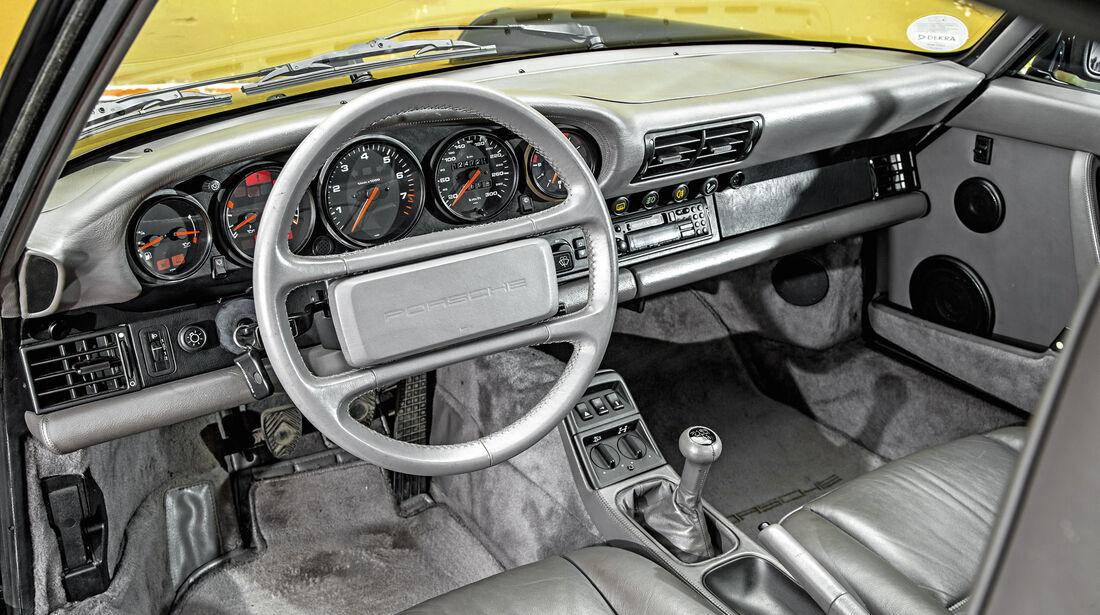 Porsche 911 C4 Typ 964, Cockpit